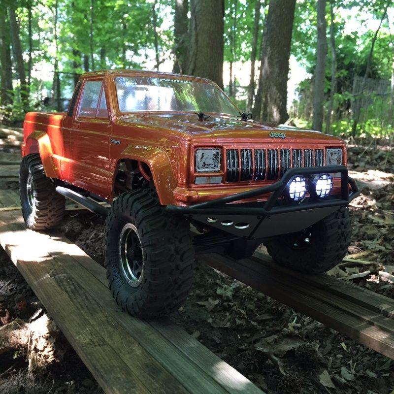 jeep - NEWBIE SCX10 Jeep Comanche! 413