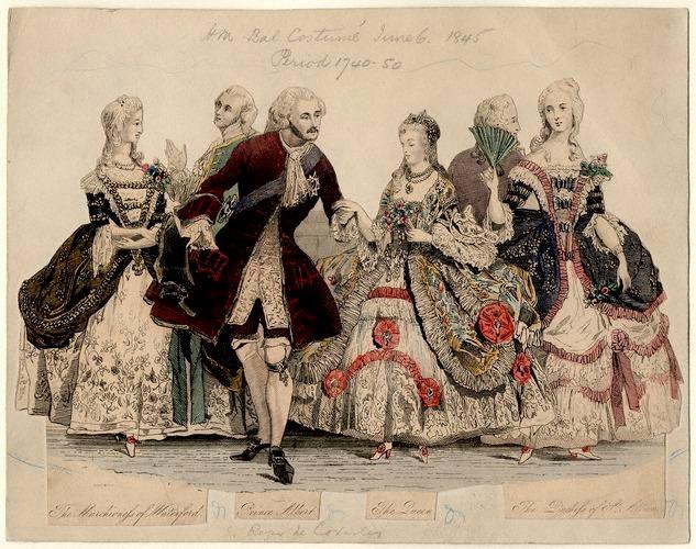 1745 Fancy Ball at Buckingham Palace 1845-610