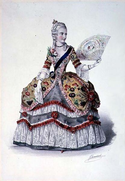 1745 Fancy Ball at Buckingham Palace Zsize110