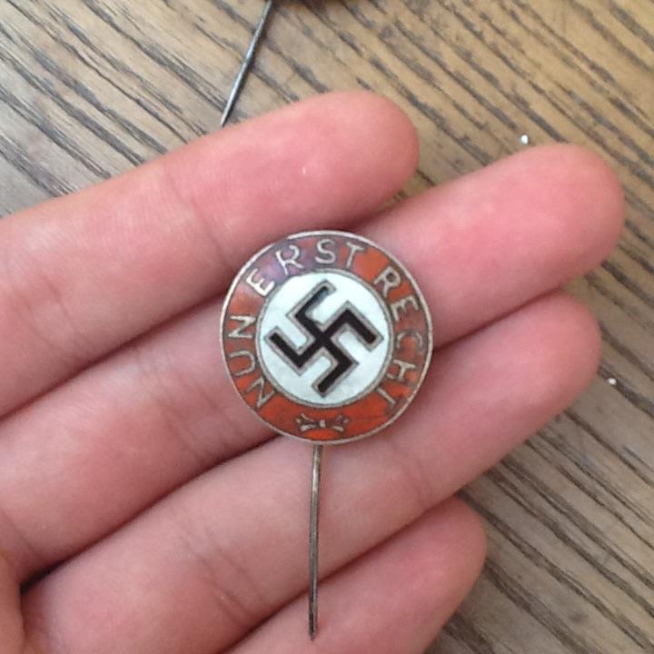 Badge Nun Erst Recht  Image20