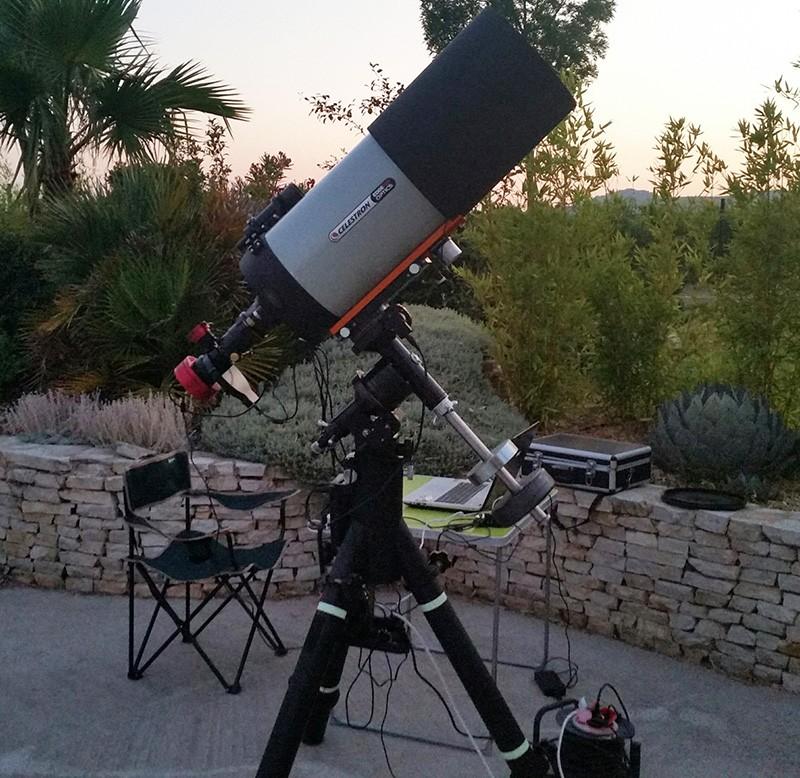 First Light couleur C11 EdgeHD/Atik 4000 : NGC7635 Setup-10