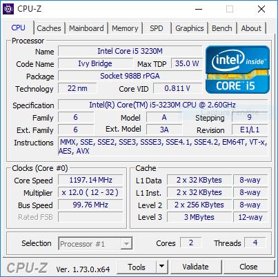 i5 avec un seul cœur Cpu10