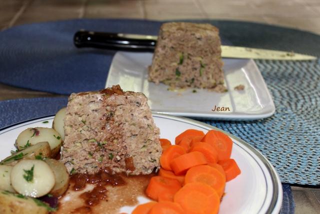 Pain de viande aux courgettes(veau) Img_8418