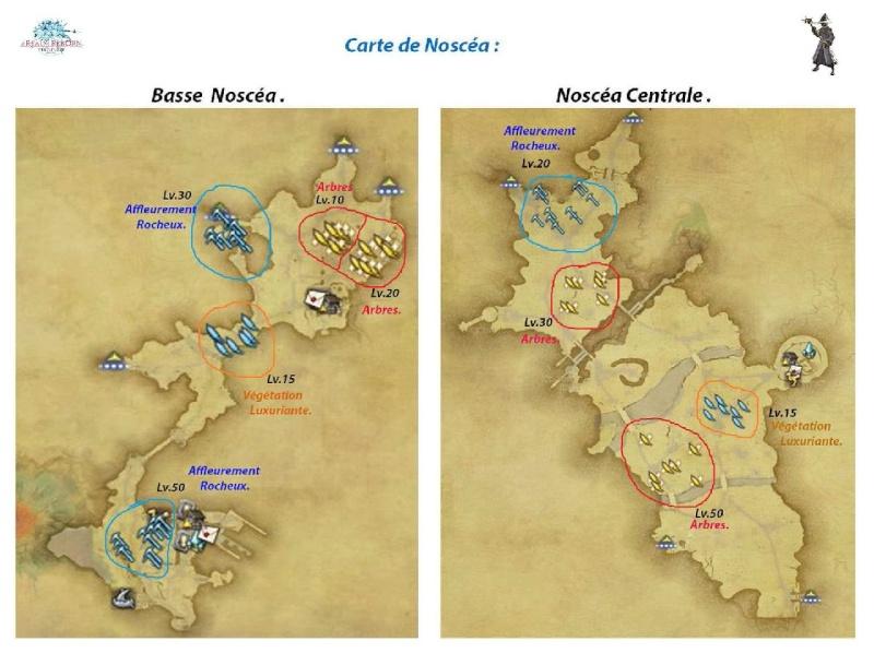 Sites de récolte de la Noscéa Noscea11