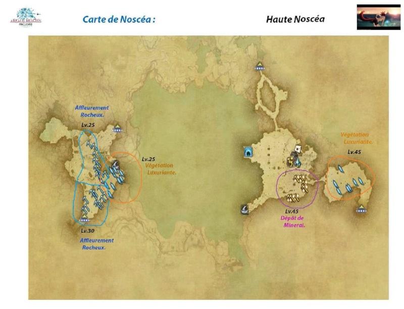 Sites de récolte de la Noscéa Noscea14