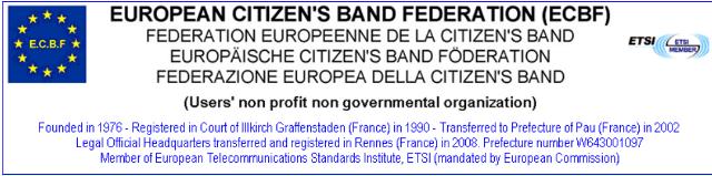 ECBF - European Citizen's Band Fédération Ecbf10