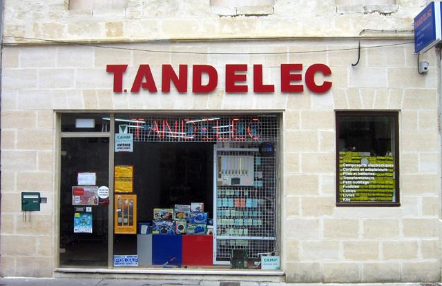 Electronique - T.ANDELEC électronique (33) (Sud-Ouest France) Facade10