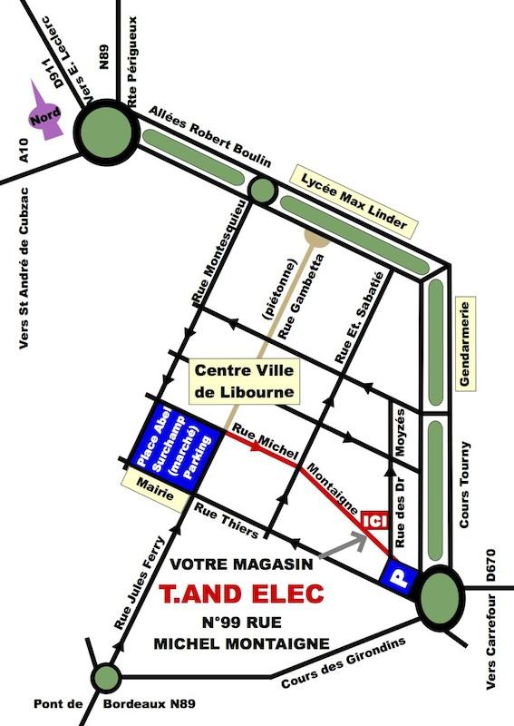 Electronique - T.ANDELEC électronique (33) (Sud-Ouest France) Plan10