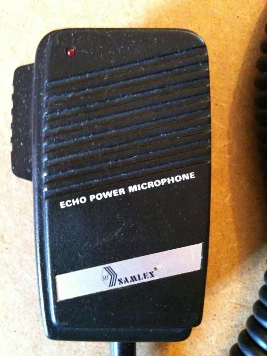 SEC Samlex Echo Power Microphone (Micro mobile) Sec-sa10