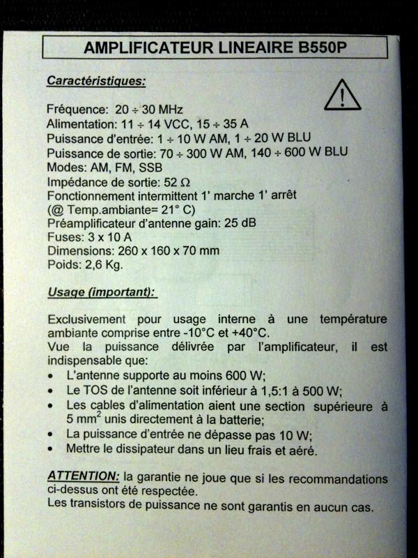 Tag ampli sur La Planète Cibi Francophone Zetagi11