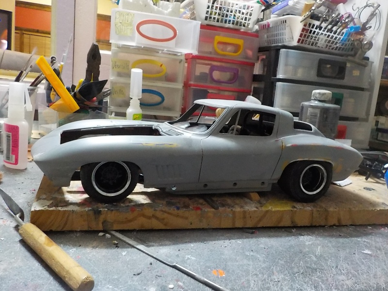 1/12 Vette  Paint and mock-up 00210