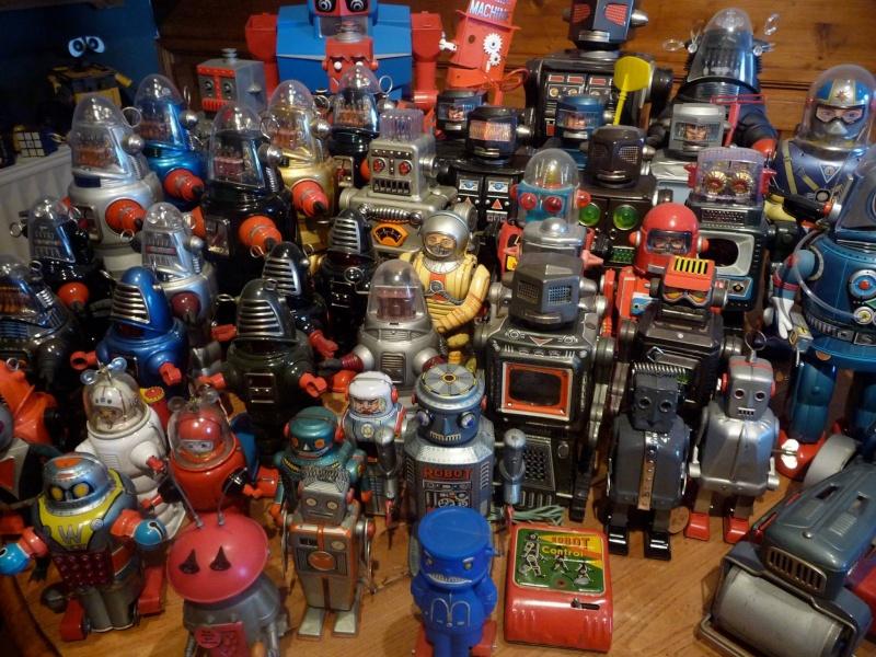 Vieux robots et spacetoys années 50 et 60 11741010