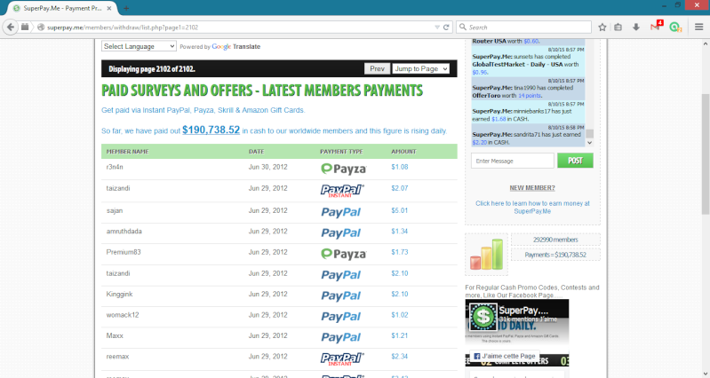 Real web page to earn money by completing surveys Imagen11