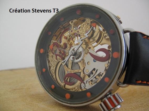 montre T3 du créateur Stevens Creati11