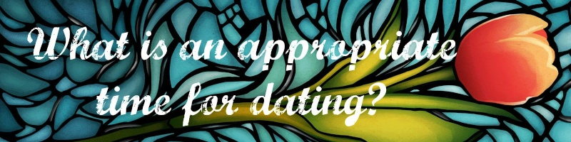 What is an appropriate time for dating? Spring10