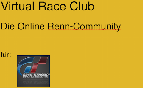 Virtual Racing Club