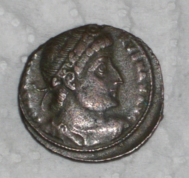 Monnaie romaine ? P-09-210