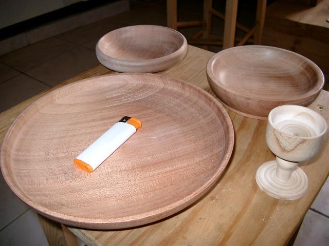 Champignons et autres assiettes. Imgp1510