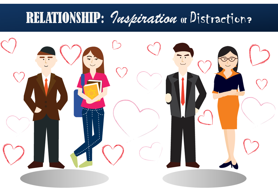 RELATIONSHIP: Inspiration or Distraction?