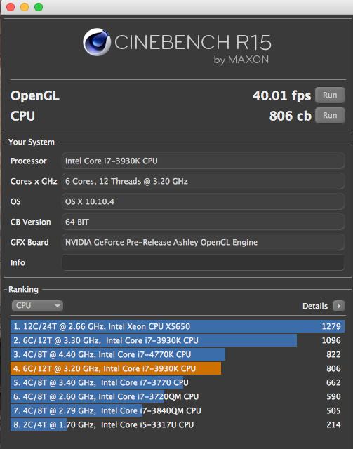 """Installation ok Yosemite dual boot mais petit soucis pour Cpu et infos""""A propos de ce mac"""" Captur11"""