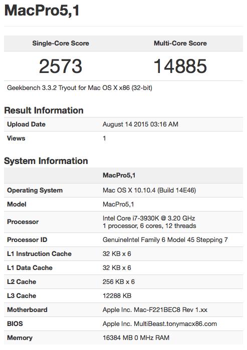 """Installation ok Yosemite dual boot mais petit soucis pour Cpu et infos""""A propos de ce mac"""" Captur12"""