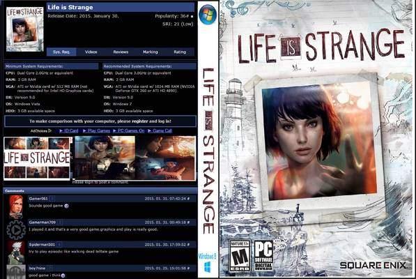 تجميل لعبه 2015 لعبةLife is Strange من ميديا فاير برابط مباشر Life-i10