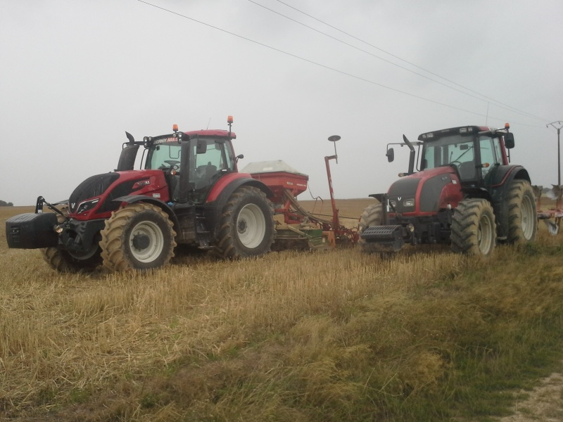 valtra t173 vs jd 6170M 20150815