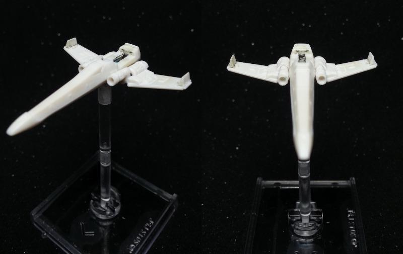 Demontage - X-Wing zerlegt X-wing12