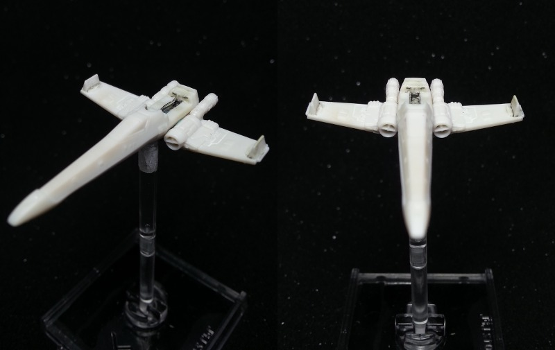 Demontage - X-Wing zerlegt X-wing13