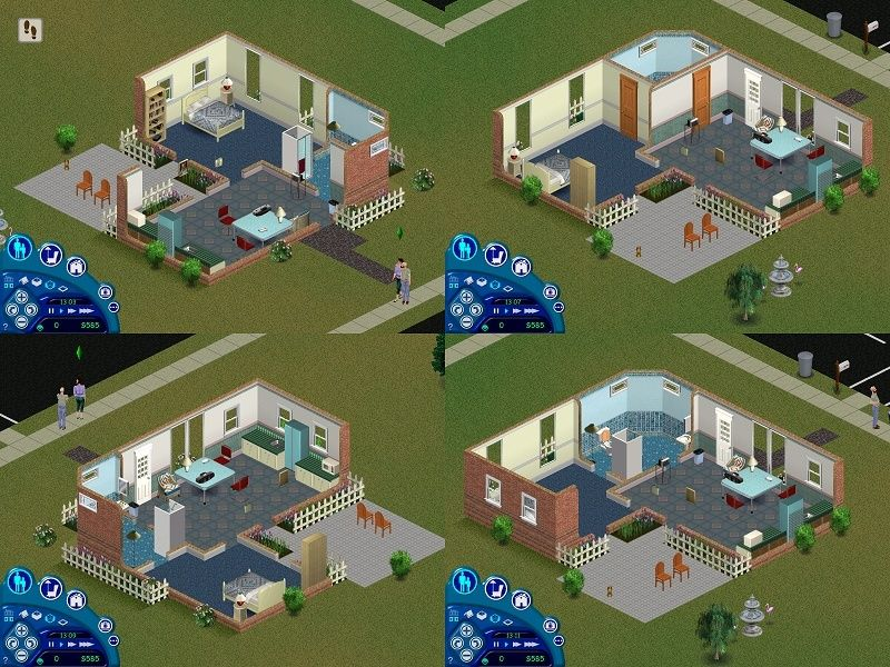 Looking for original sims floor plans A10