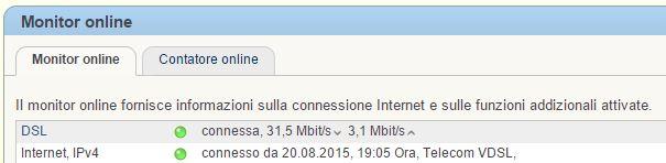 Fritz 7490 e VDSL/Fibra Telecom ... valori di allineamento Cattur10