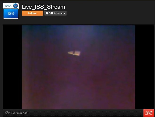 Webcam ISS  Iss_2610