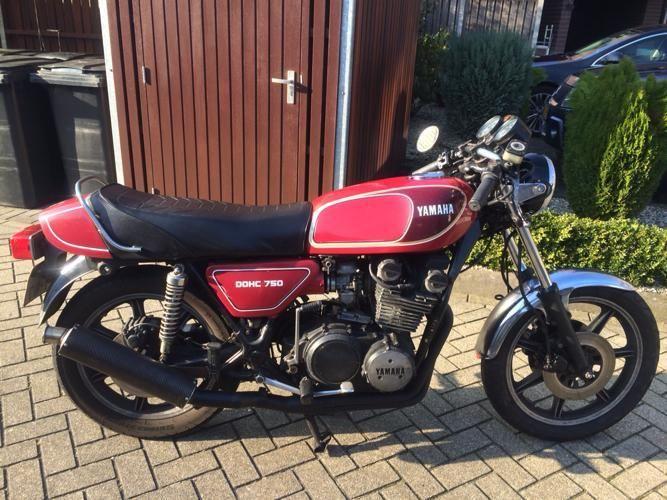 XS750 '77 Custom-built _8510