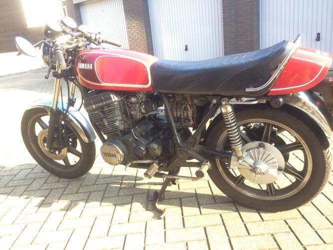 XS750 '77 Custom-built _8710