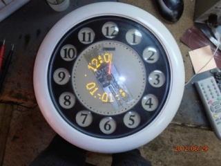 Пропеллерные часы (эффект Боба Блика). 1010