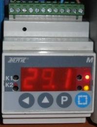Простой цифровой терморегулятор 111