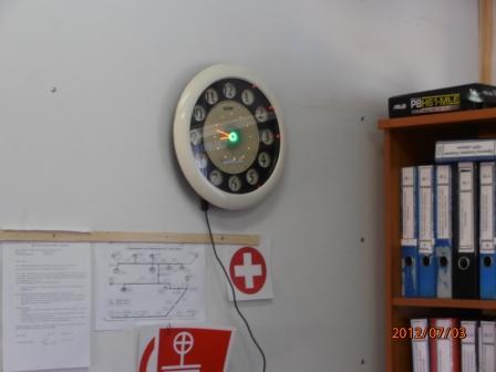 Пропеллерные часы (эффект Боба Блика). 1110