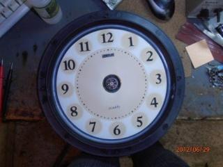 Пропеллерные часы (эффект Боба Блика). 610