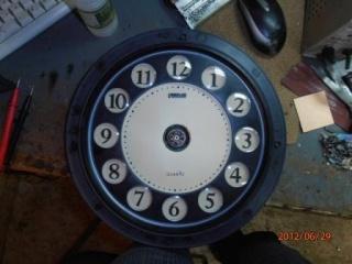 Пропеллерные часы (эффект Боба Блика). 710