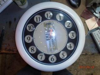 Пропеллерные часы (эффект Боба Блика). 910