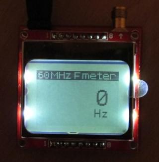 Частотомер на контроллере PIC16F628 и дисплее от Nokia5110 Hz_met10