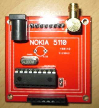 Частотомер на контроллере PIC16F628 и дисплее от Nokia5110 Hz_met11