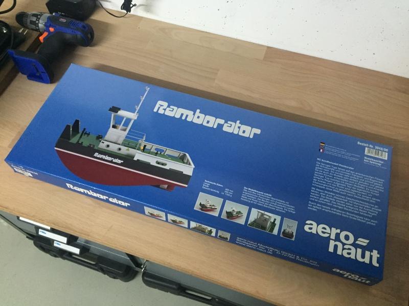 Anfänger versucht sich am Ramborator 20150810