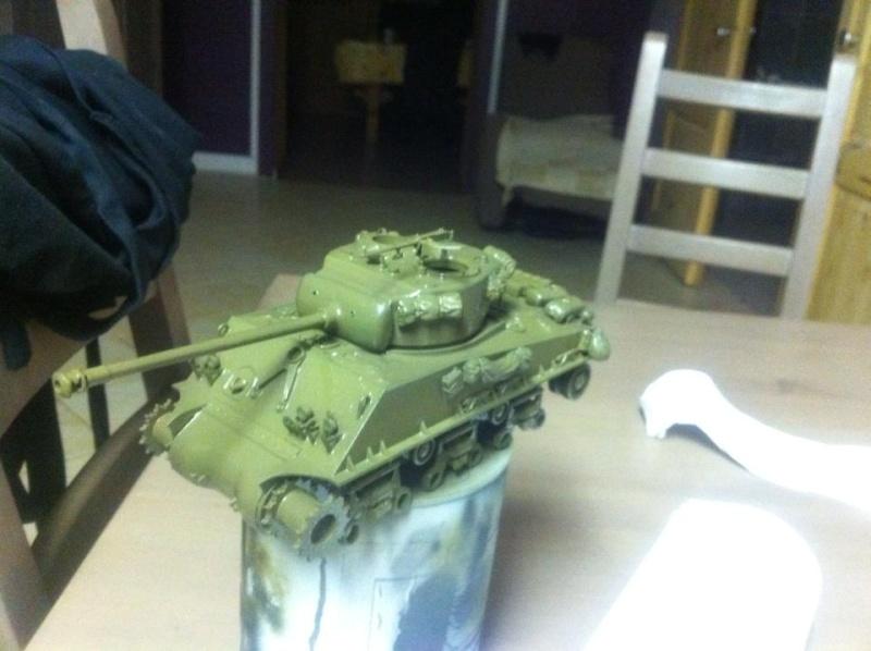Sherman - Sherman M4A3E8 FIN DE GUERRE 11122410