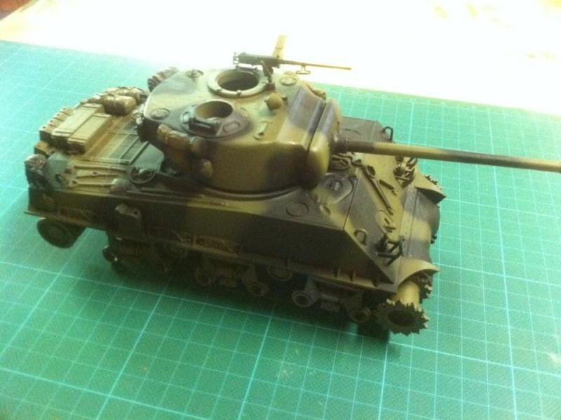 Sherman - Sherman M4A3E8 FIN DE GUERRE 11195410