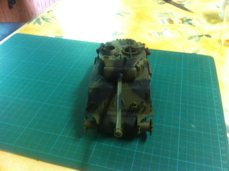 Sherman - Sherman M4A3E8 FIN DE GUERRE 11650610