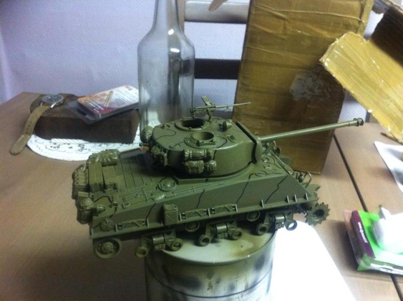 Sherman - Sherman M4A3E8 FIN DE GUERRE 11650810