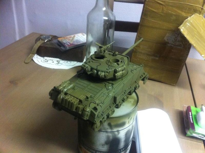 Sherman - Sherman M4A3E8 FIN DE GUERRE 11652110