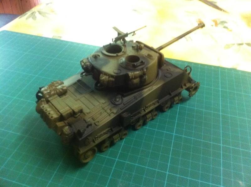 Sherman - Sherman M4A3E8 FIN DE GUERRE 11655210