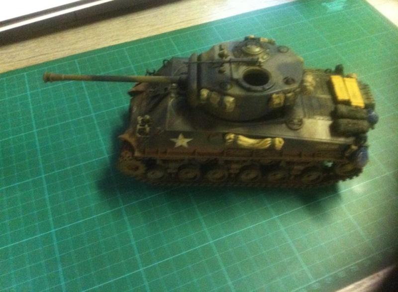 Sherman - Sherman M4A3E8 FIN DE GUERRE 11721910